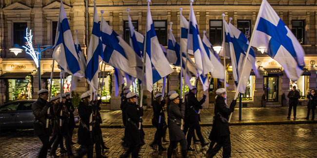 6 December - Finland Independence Day