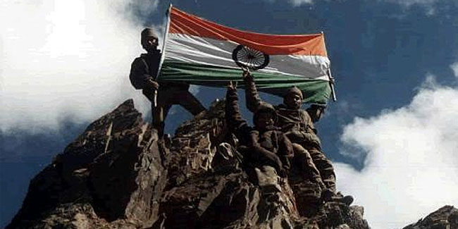 7 December - Armed Forces Flag Day in India