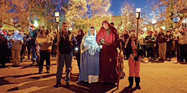 16 December - The first day of Las Posadas