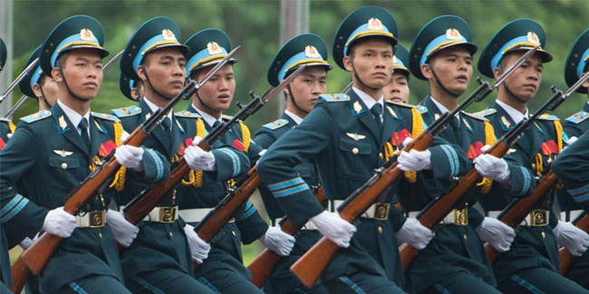 22 December - Armed Forces Day in Vietnam