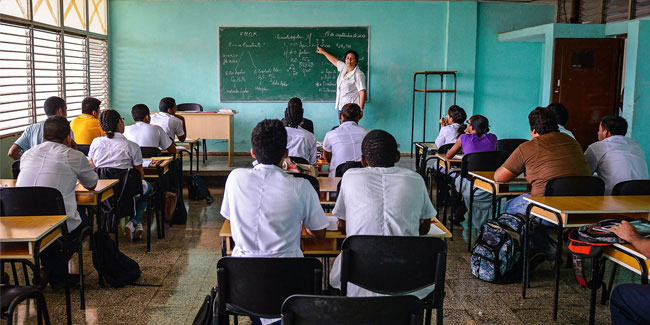 22 December - Teachers' Day in Cuba