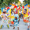 The first day of Junkanoo street parade, the second day is on the New Year's Day