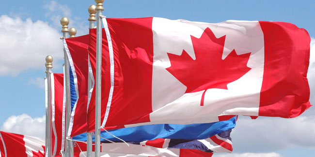 15 February - National Flag of Canada Day