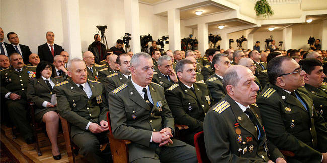20 December - Day of employees of state and national security bodies of Armenia