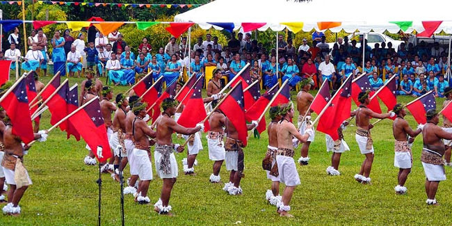 1 January - Samoa Independence Day