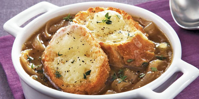 8 March - National French Onion Soup Day