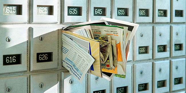 1 October - Junk Mail Awareness Week