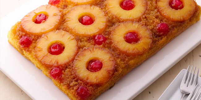 20 April - National Pineapple Upside-down Cake Day in USA