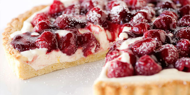 11 August - National Raspberry Tart Day in US