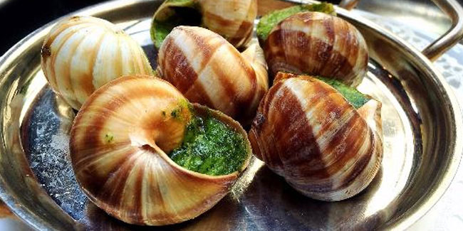 24 May - National Escargot Day in USA