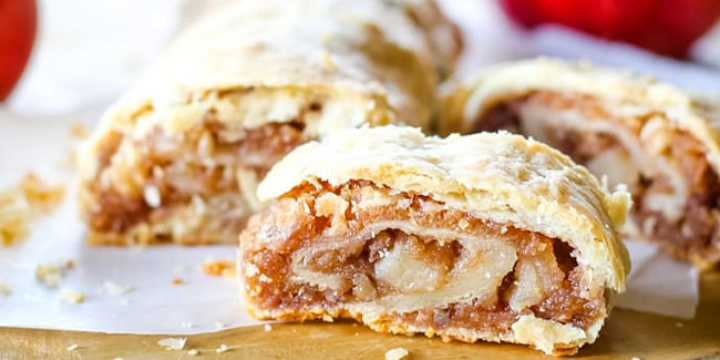17 June - National Apple Strudel Day and Eat Your Vegetables Day in USA