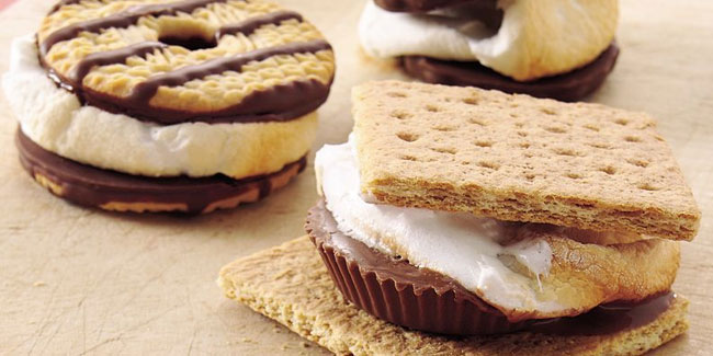 10 August - National S'mores Day in USA