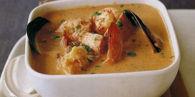 19 October - National Seafood Bisque Day in USA