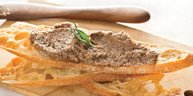 1 November - National Pâté Day and National Vinegar Day in USA