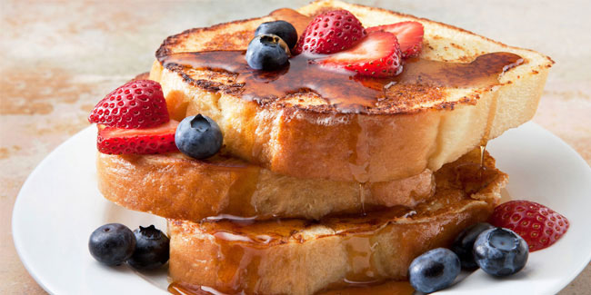28 November - National French Toast Day in USA