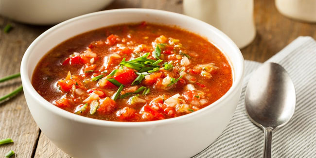 "6 December - National Gazpacho Day, National Microwave Oven Day and  National ""Cook for Christmas"" Day in USA"