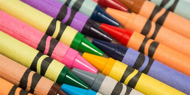 31 March - Crayola Crayon Day