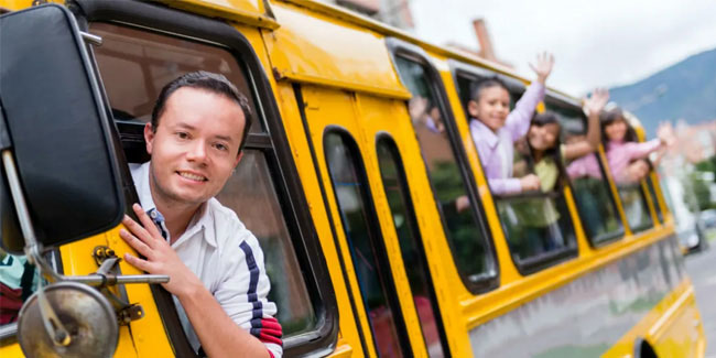 23 April - School Bus Driver's Day