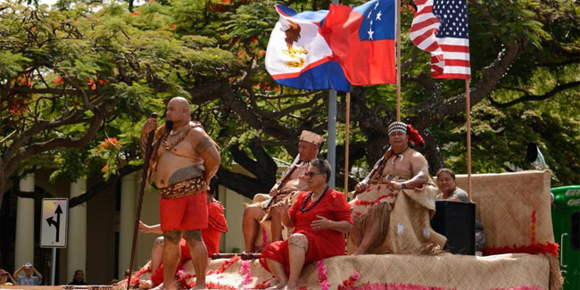 16 July - Manu'a Cession Day or Manu'a Flag Day in American Samoa