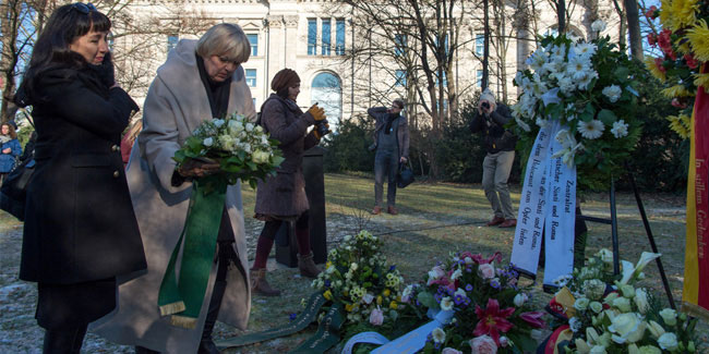 27 January - Memorial Day for the Victims of National Socialism in Germany