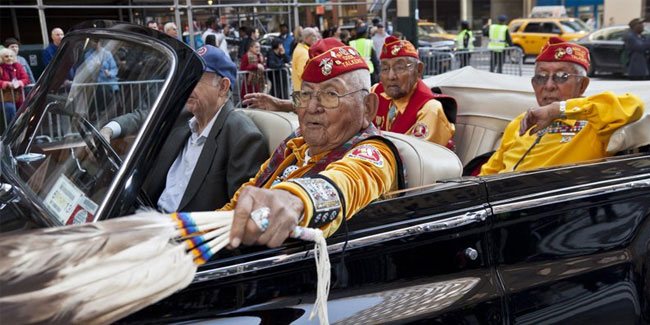 14 August - National Navajo Code Talkers Day in USA
