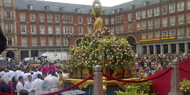 9 November - Feast of the Virgin of Almudena in Spain