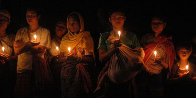 11 March - Global day of prayer for Burma