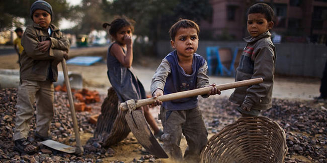 16 April - World Day Against Child Slavery