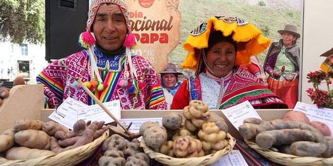 30 May - National Potato Day in Peru