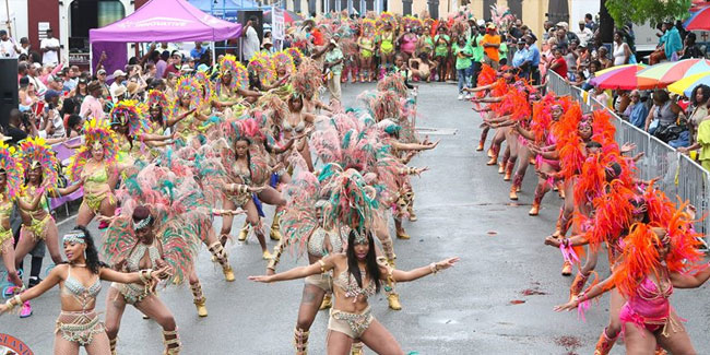7 April - St. Thomas Carnival in US Virgin Islands