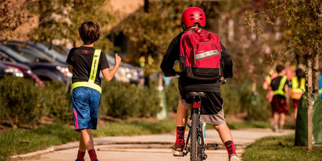 7 October - International Walk and Bike to School Day