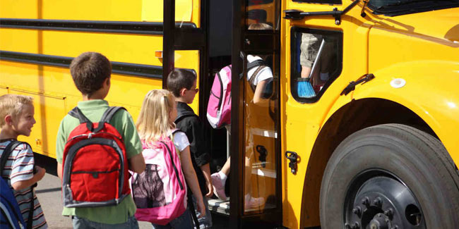 19 October - National School Bus Safety Week in USA