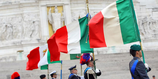 7 January - Tricolour Day or Festa del Tricolore in Italy