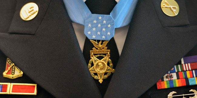 25 March - National Medal of Honor Day