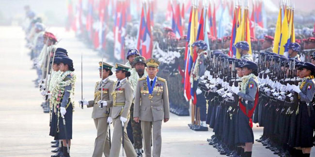 27 March - Armed Forces Day in Myanmar