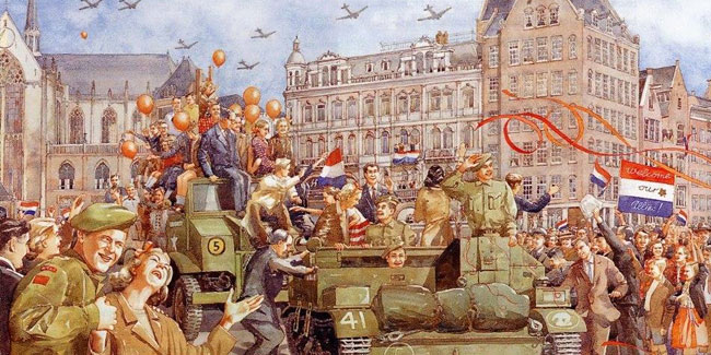 5 May - Liberation Day in the Netherlands