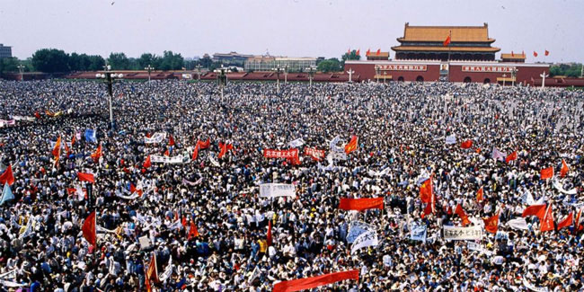 4 June - Tiananmen Square Protests of 1989 Memorial Day