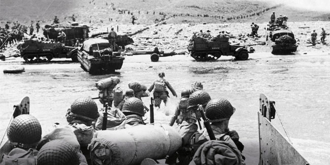6 June - Normandy landings of the Allied Expeditionary Forces