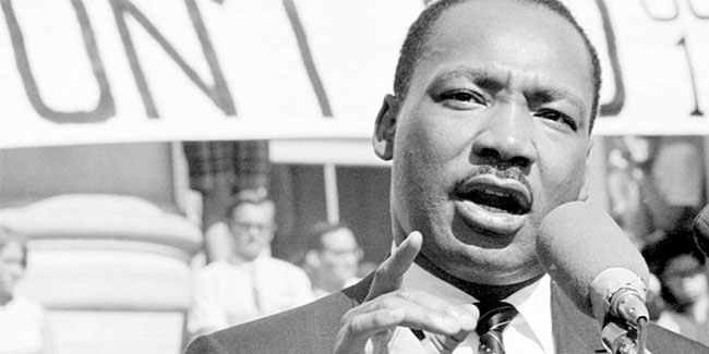 17 January - Martin Luther King Jr. Day in United States