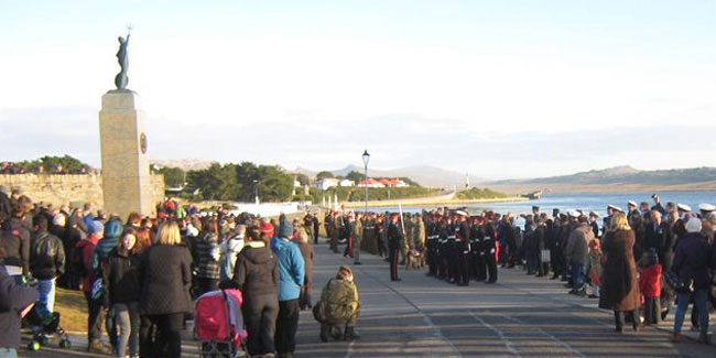 14 June - Liberation Day in Falkland Islands and South Georgia and the South Sandwich Islands