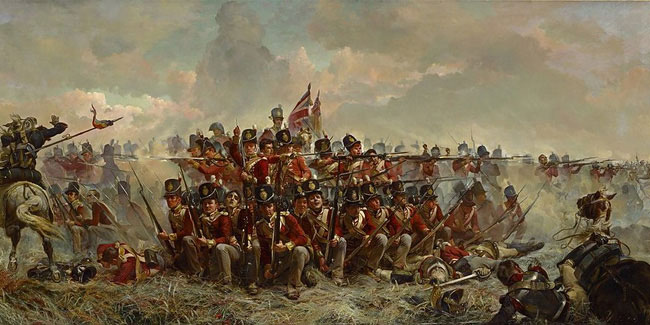 18 June - Waterloo Day