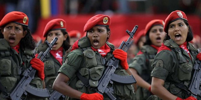 24 June - Army Day or Battle of Carabobo Day in Venezuela
