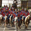 The second day of Naadam in Mongolia