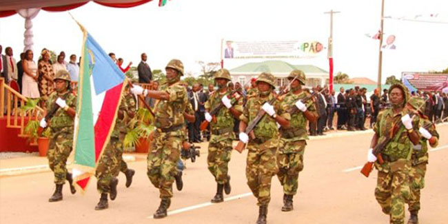 3 August - Armed Forces Day in Equatorial Guinea
