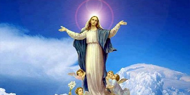 15 August - Feast day of the Assumption of Mary