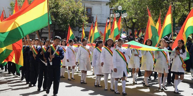 17 August - Flag Day in Bolivia