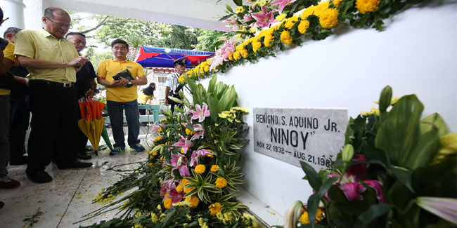 21 August - Ninoy Aquino Day in the Philippines