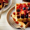 National Waffle Day and National Peach Pie Day in United States