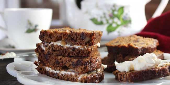 8 September - National Date-Nut Bread Day in United States
