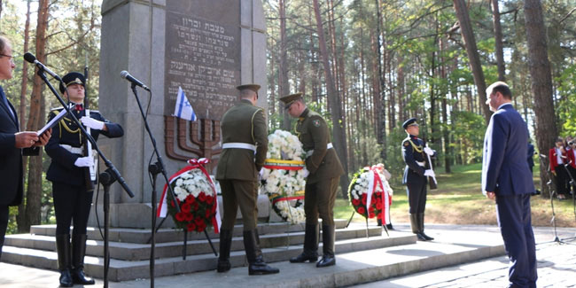 23 September - Holocaust Memorial Day in Lithuania